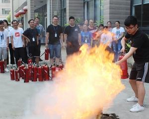人人参与消防  共创平安和谐